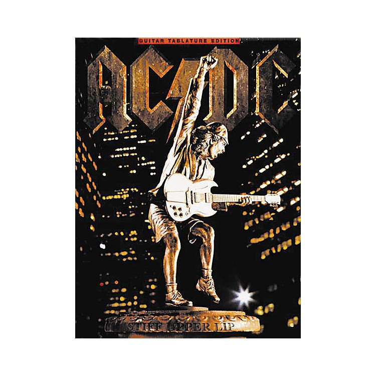 Music SalesAC/DC - Stiff Upper Lip Music Sales America Series Softcover Performed by AC/DC