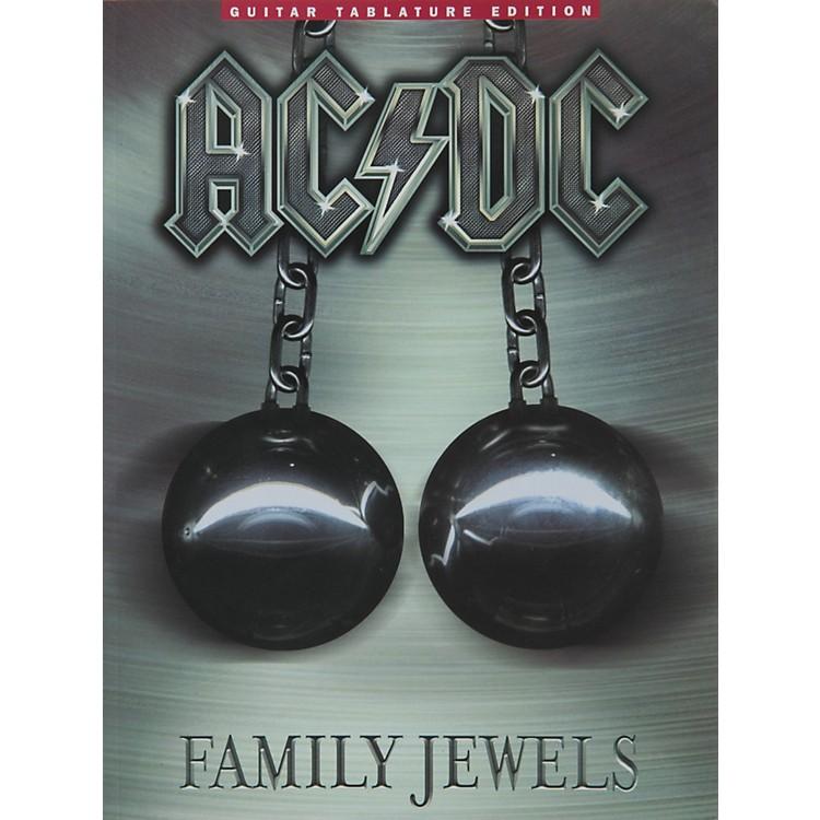 Music SalesAC/DC Family Jewels Guitar Tab Songbook