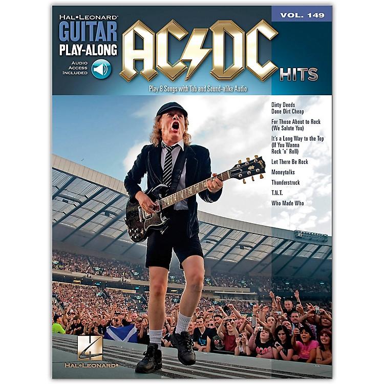 Music SalesAC/DC Hits Guitar Play-Along Volume 149 Book/CD