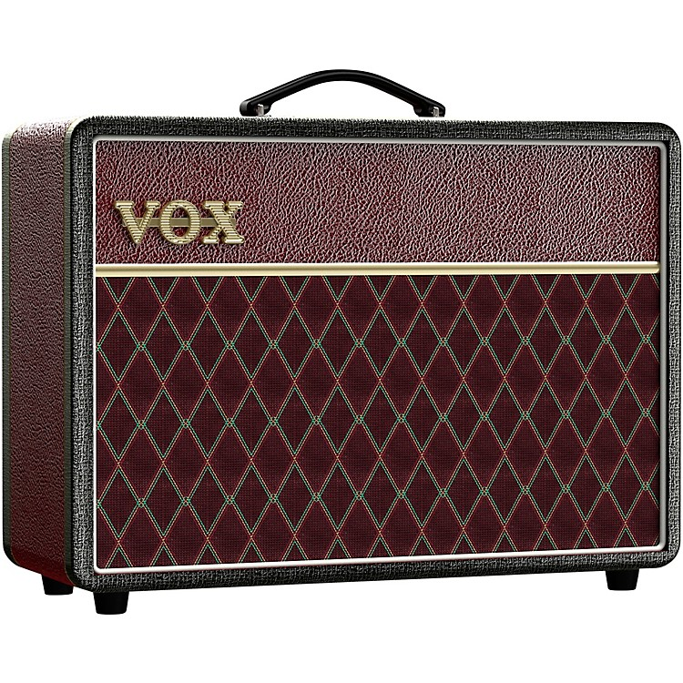 VoxAC10C1 Limited-Edition Two-Tone 10W 1x10 Tube Guitar Combo AmpBlack and Red