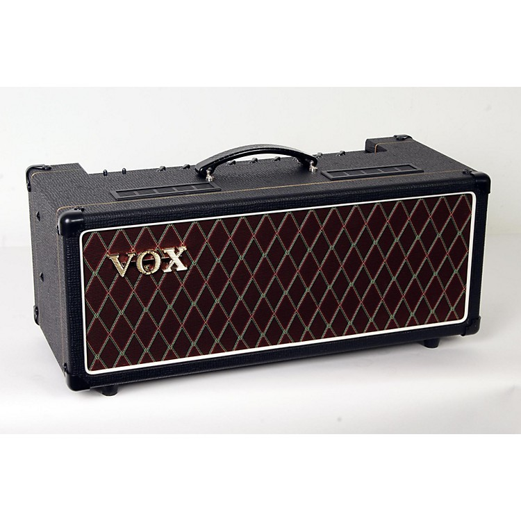 Vox AC15CH Custom 15W Tube Guitar Amp Head Black 888365903088
