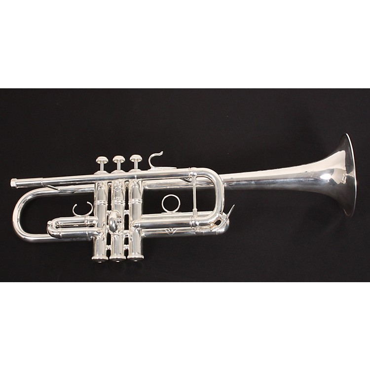 BachAC190 Stradivarius Artisan Series C TrumpetAC190S Silver889406810952