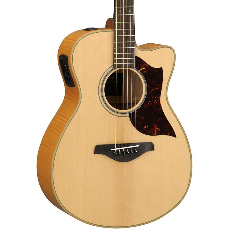 YamahaAC1FMHC A-Series Flame Maple Concert Acoustic-Electric Guitar with SRT Pickup