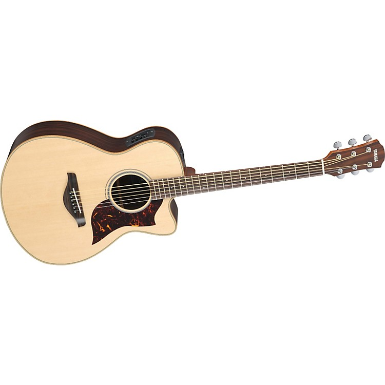 yamaha ac1r concert acoustic electric guitar with srt preamp pickup music123. Black Bedroom Furniture Sets. Home Design Ideas