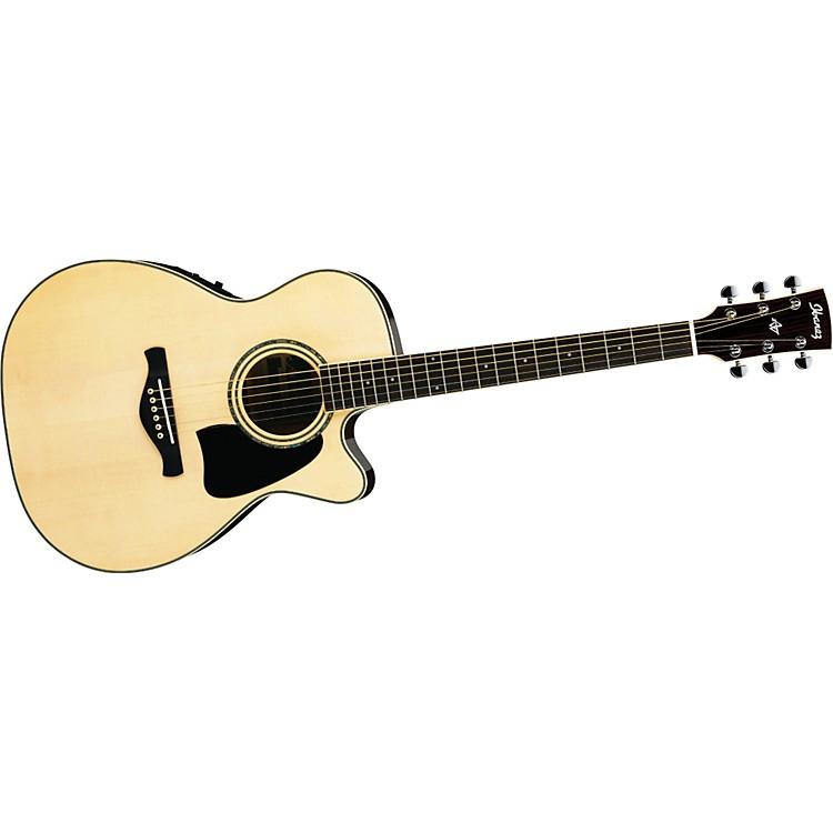 IbanezAC300ECENT Artwood Grand Concert Cutaway Acoustic-Electric Guitar
