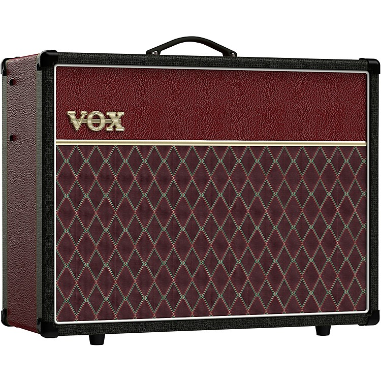 Vox AC30S1 Limited-Edition Two-Tone 30W 1x12 Tube Guitar Combo Amp Black and Red