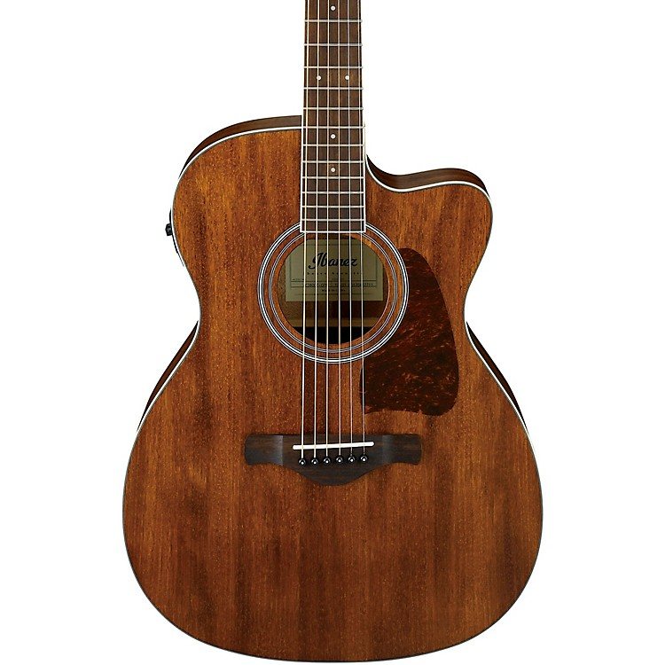 Ibanez AC340CE Artwood Cutaway Grand Concert Acoustic-Electric Guitar Natural Matte