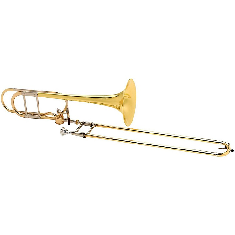 Antoine Courtois Paris AC420BH Legend Series Hagmann F-Attachment Trombone AC420BH Lacquer Yellow Brass Bell