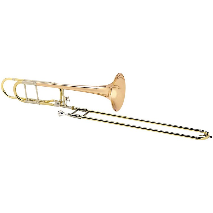 Antoine Courtois Paris AC420BO Legend Series F-Attachment Trombone with Sterling Silver Leadpipe AC420MBO Lacquer Yellow Brass Bell
