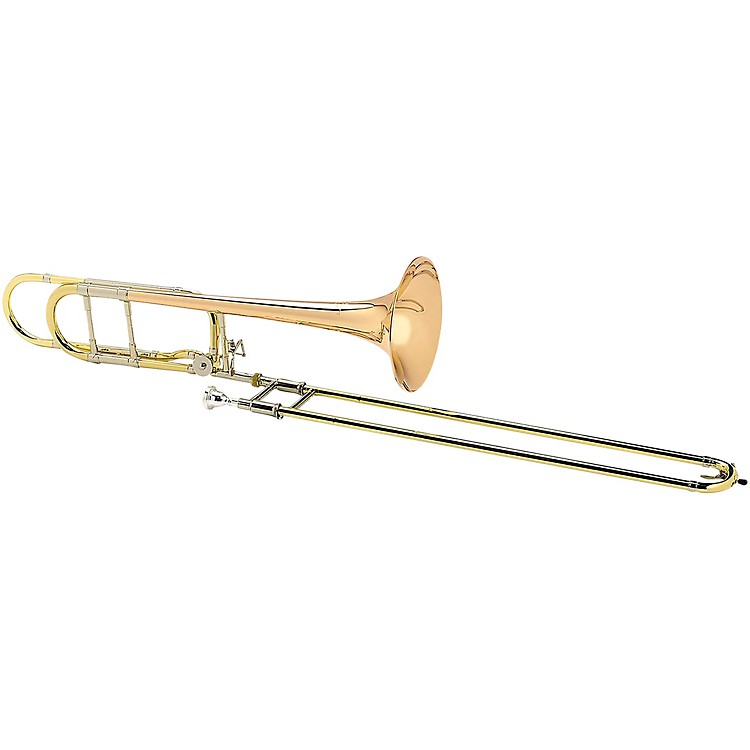 Antoine Courtois Paris AC420BO Legend Series F-Attachment Trombone with Sterling Silver Leadpipe Lacquer Rose Brass Bell