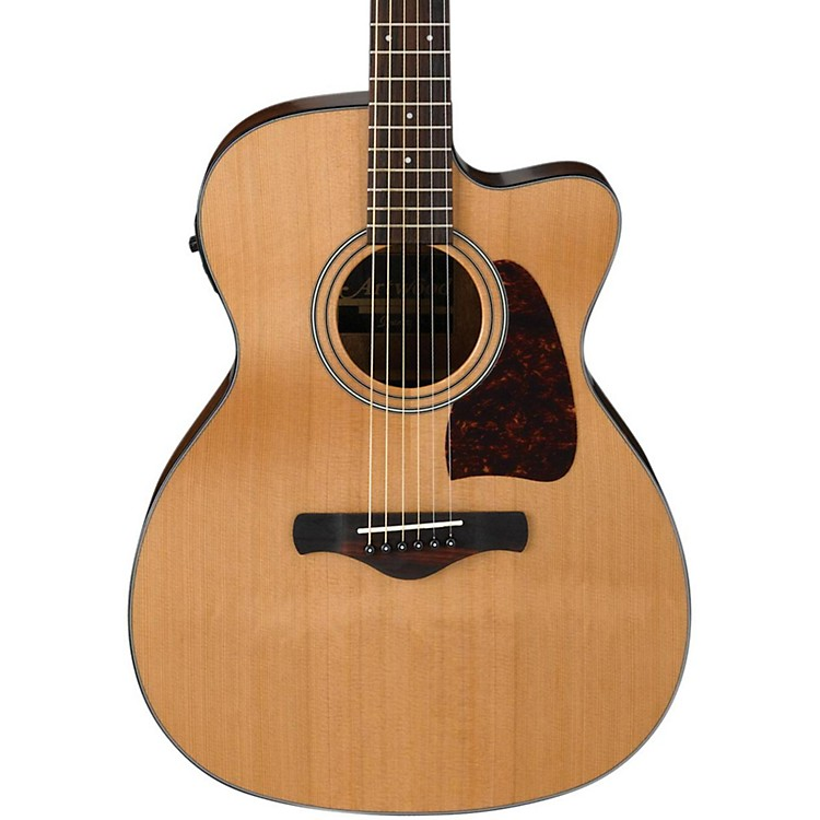 IbanezAC450CENT Artwood Solid Top Grand Concert Acoustic-Electric GuitarNatural
