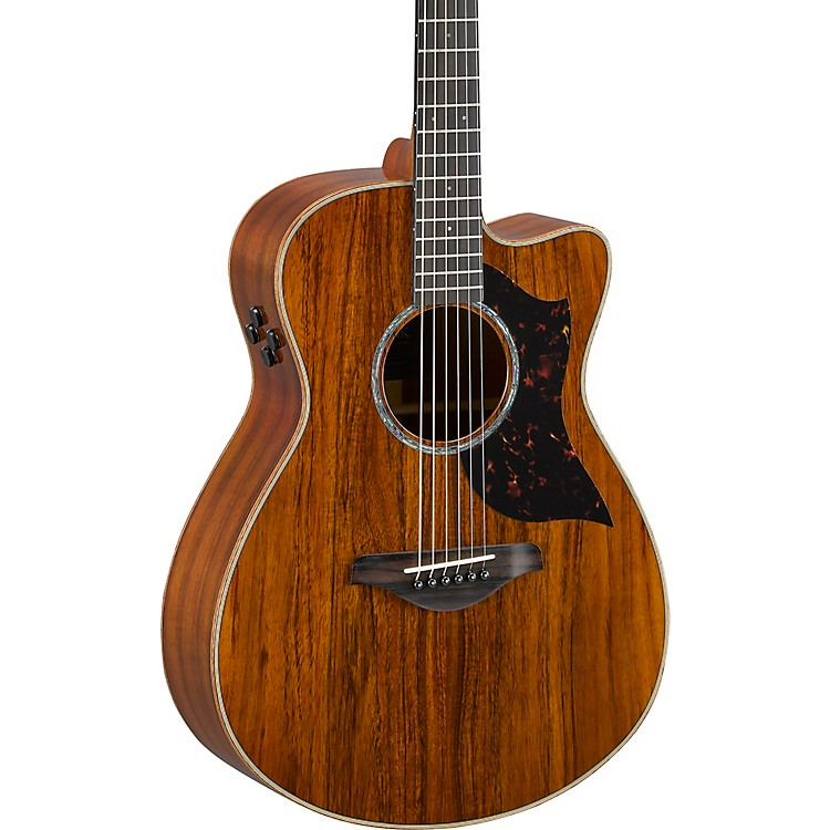 yamaha ac4kii limited koa small body acoustic electric guitar music123. Black Bedroom Furniture Sets. Home Design Ideas