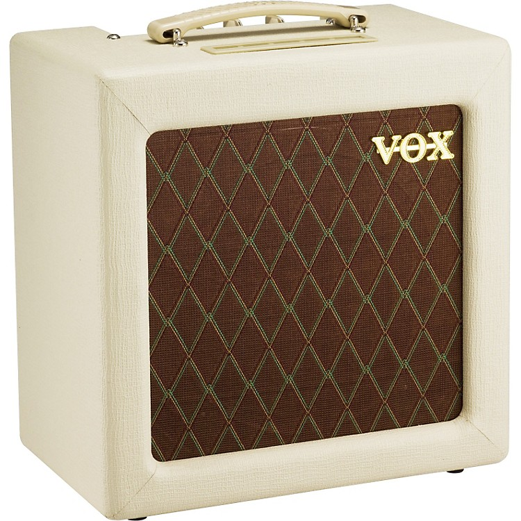 VoxAC4TV 4W 1x10 Tube Guitar Combo AmpCream