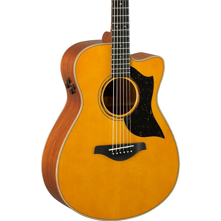 YamahaAC5M A-Series Concert Acoustic-Electric GuitarVintage Natural