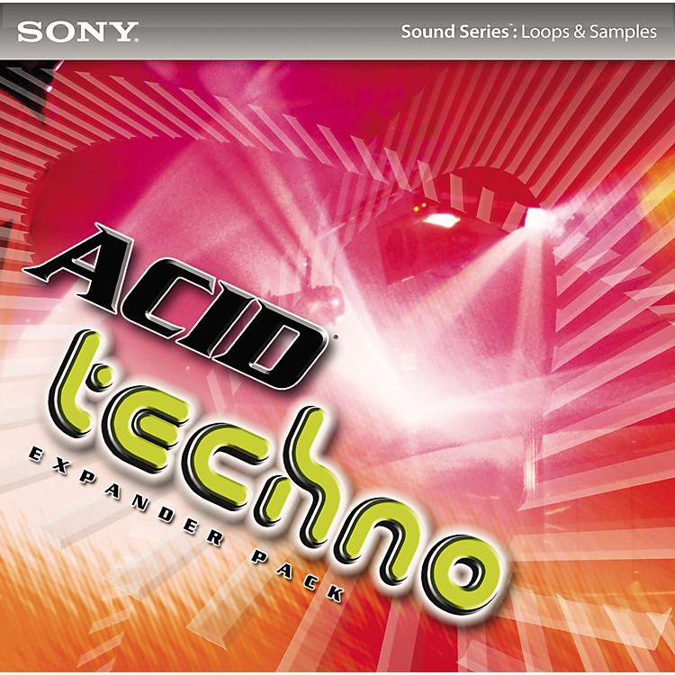 Sony acid loops acid techno expander pack music123 for Acid techno music