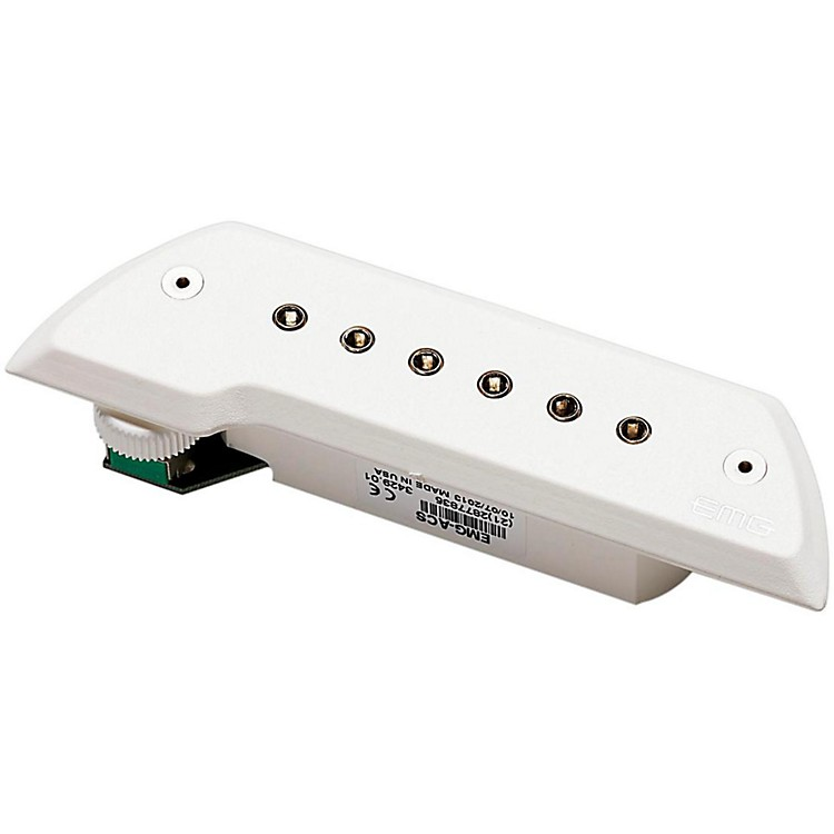 EMGACS Acoustic Guitar PickupWhite