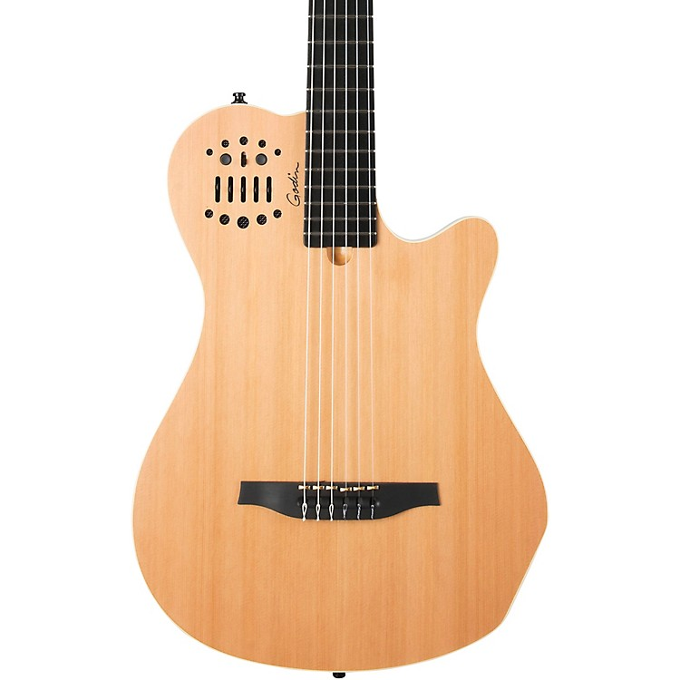 GodinACS Grand Concert Nylon-String Acoustic-Electric GuitarNatural