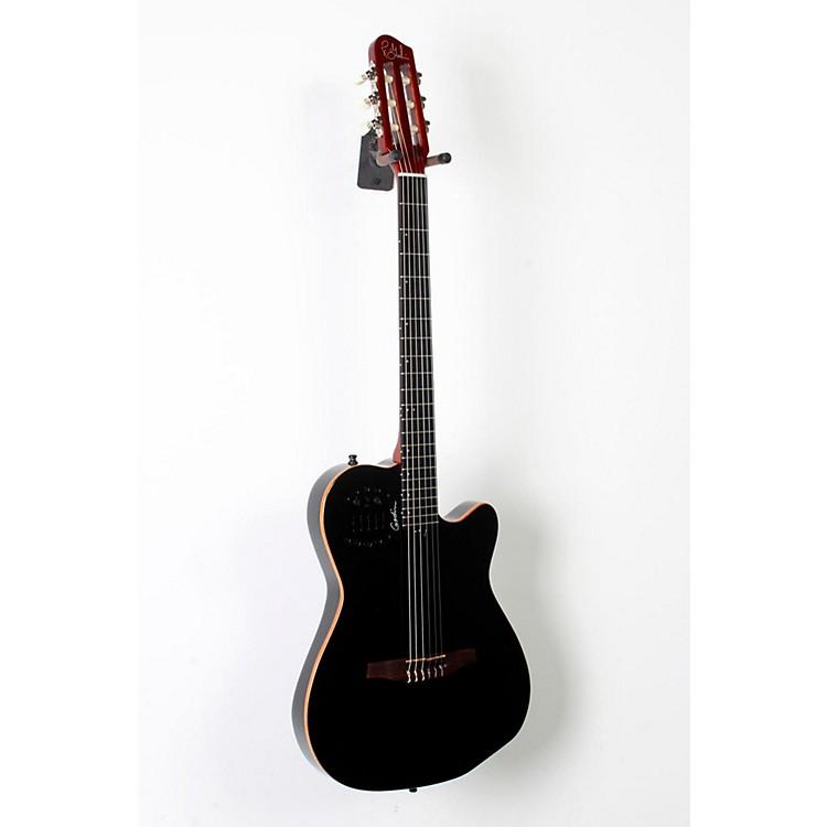GodinACS-SA Slim Nylon String Cedar Top Acoustic-Electric GuitarBlack Pearl888365804248