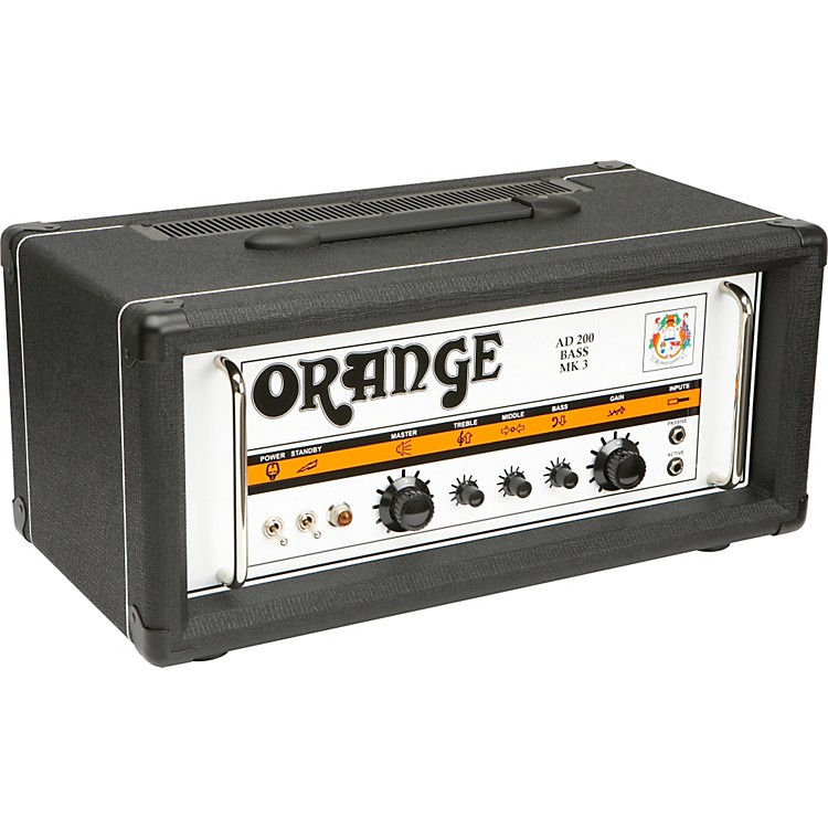 Orange AmplifiersAD Series AD200B 200W Tube Bass Amp HeadBlack