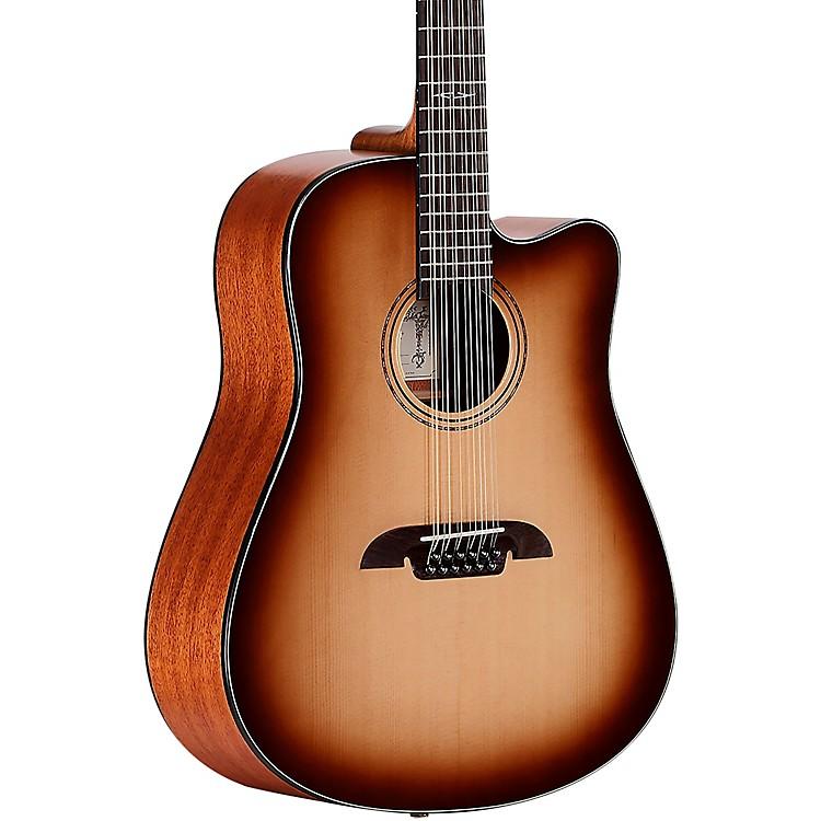 AlvarezAD610CE-12SHB Artist Dreadnought 12-String  Acoustic-Electric Guitar