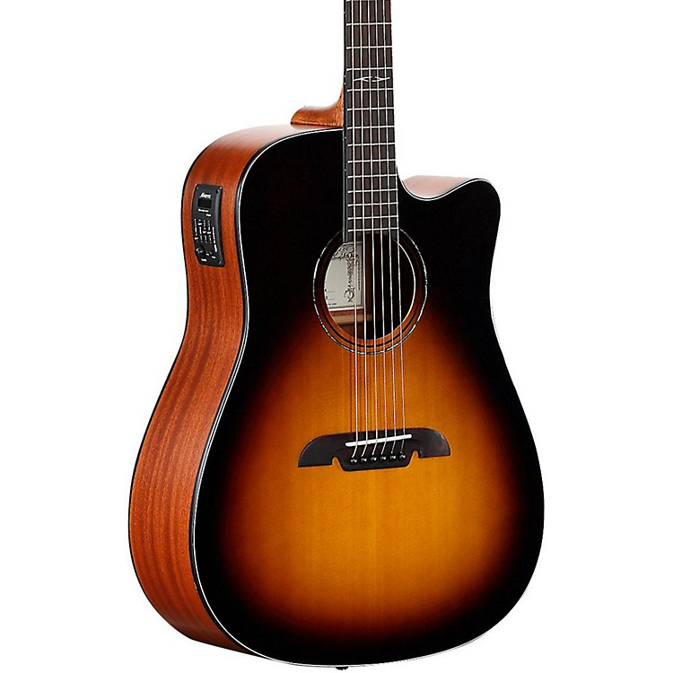 Alvarez AD610CESB Dreadnought Acoustic-Electric Guitar Sunburst