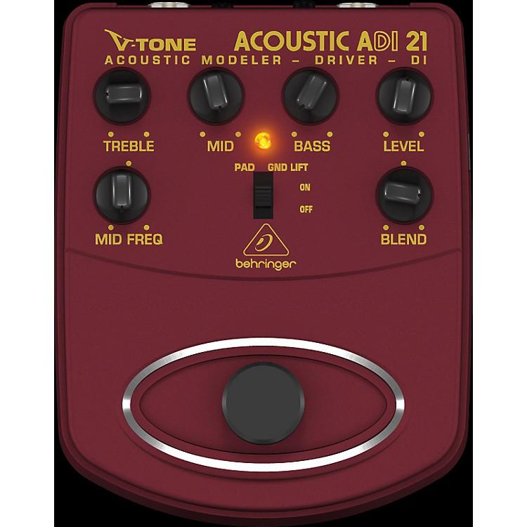 BehringerADI21 V-Tone Acoustic Driver Direct Recording Preamp/DI Box