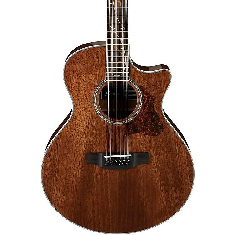 Ibanez AE2412 12-String Acoustic-Electric Guitar High Gloss Natural