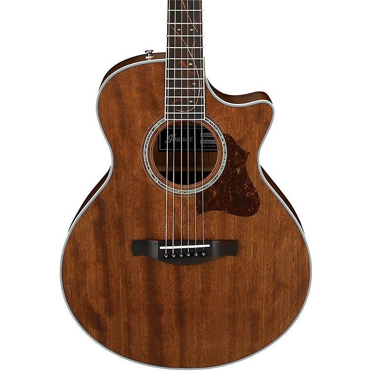 IbanezAE245JROPN Small Body Acoustic-Electric GuitarSatin Natural