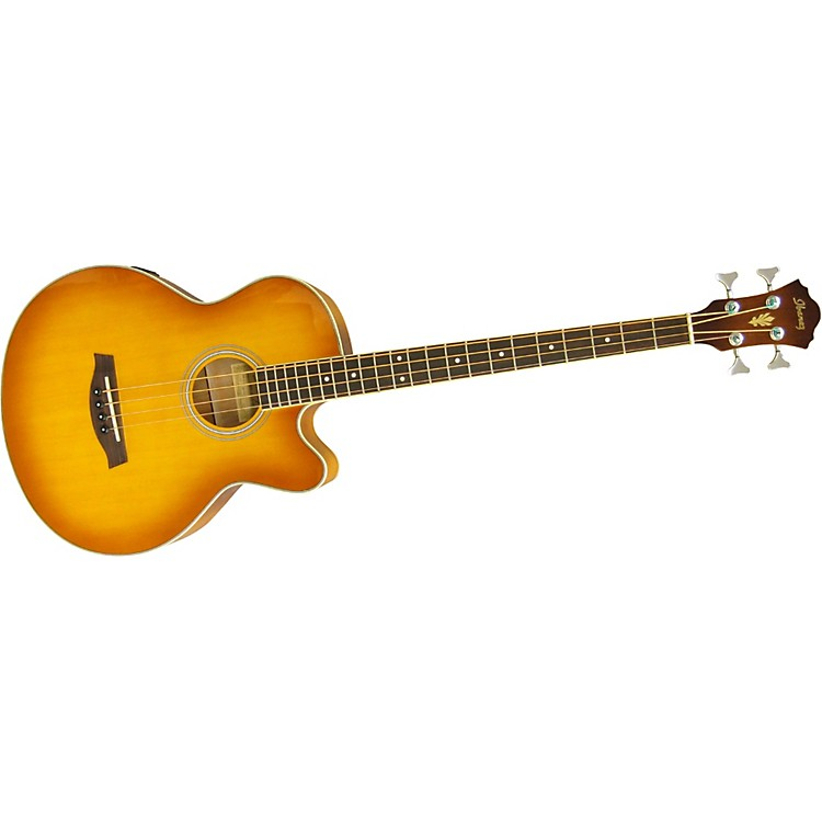 Ibanez AEB5E Acoustic-Electric Bass Light Violin Sunburst