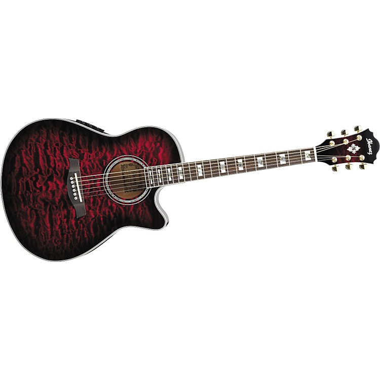 IbanezAEF37E Cutaway Acoustic-Electric Guitar