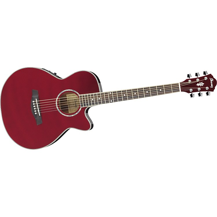Ibanez AEG10E Cutaway Acoustic-Electric Guitar