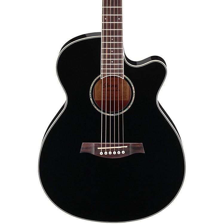 IbanezAEG10II Cutaway Acoustic-Electric GuitarBlack888365787428