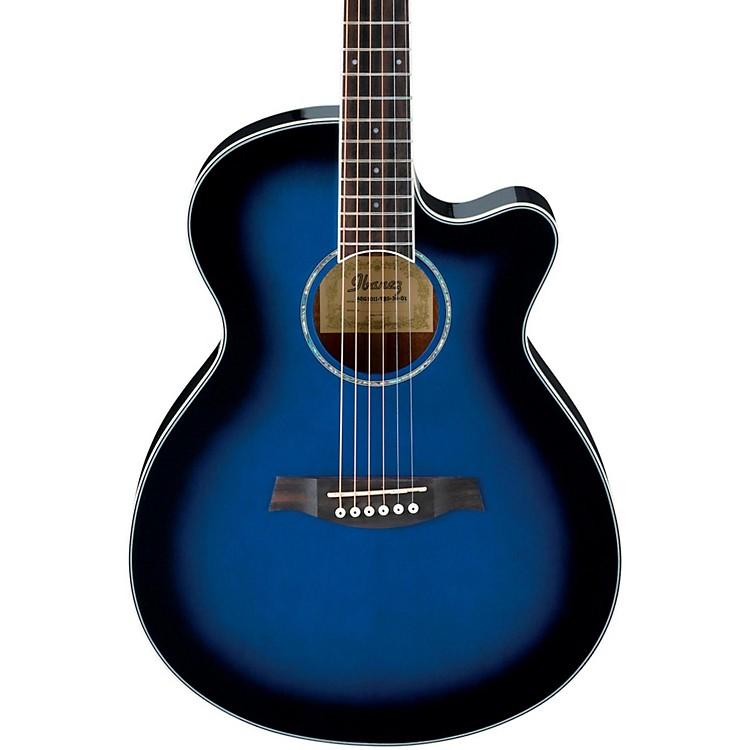 IbanezAEG10II Cutaway Acoustic-Electric GuitarBrown Sunburst