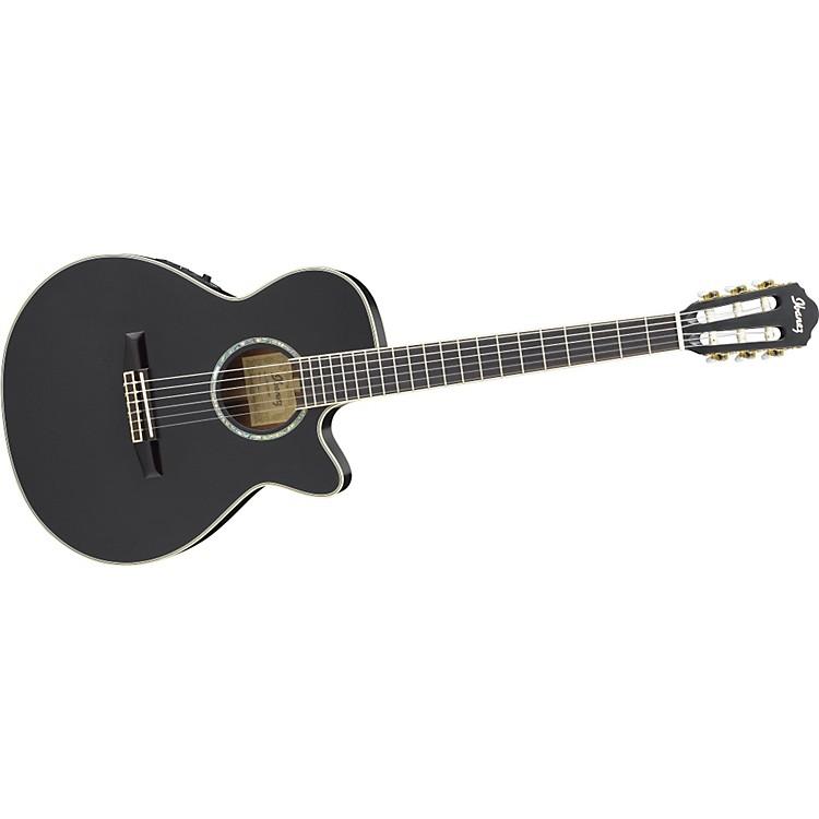 IbanezAEG10NE Nylon String Cutaway Acoustic-Electric GuitarBlack