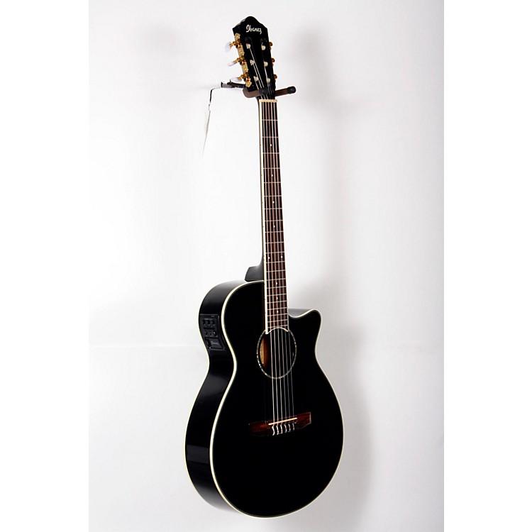 IbanezAEG10NII Nylon String Cutaway Acoustic-Electric GuitarBlack888365845913