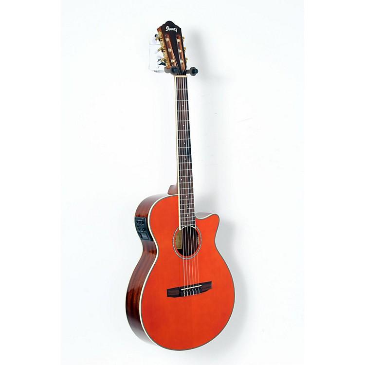 IbanezAEG10NII Nylon String Cutaway Acoustic-Electric GuitarTangerine888365894171