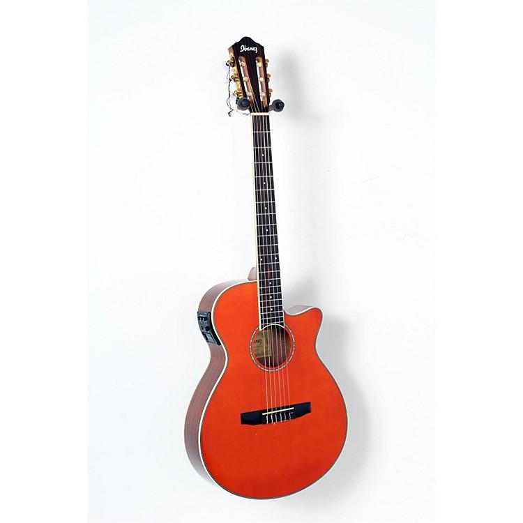 IbanezAEG10NII Nylon String Cutaway Acoustic-Electric GuitarTangerine888365906119