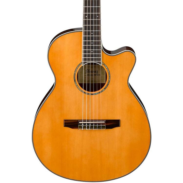 IbanezAEG10NII Nylon String Cutaway Acoustic-Electric GuitarBlack888365906621