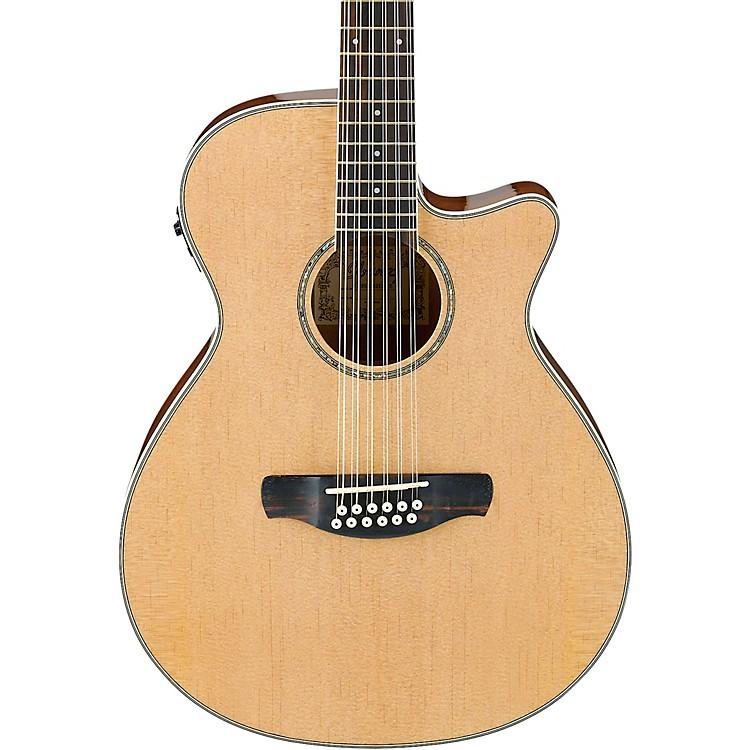 IbanezAEG1812IINT 12-String Acoustic-Electric GuitarHigh Gloss Natural