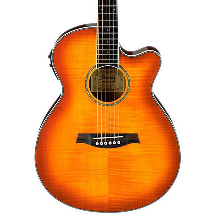 IbanezAEG20II Flamed Sycamore Top Cutaway Acoustic-Electric GuitarVintage Violin