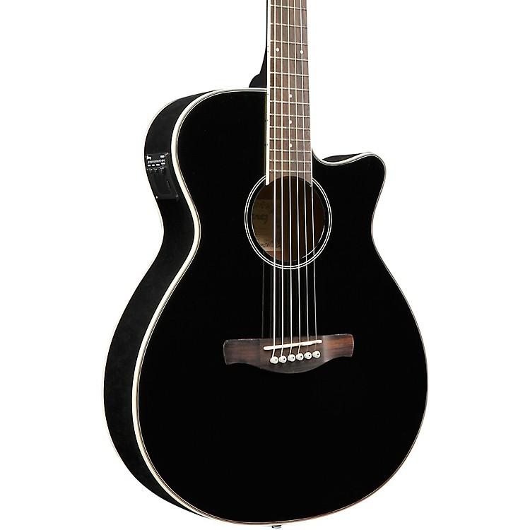IbanezAEG8E Cutaway Acoustic-Electric GuitarGloss Black