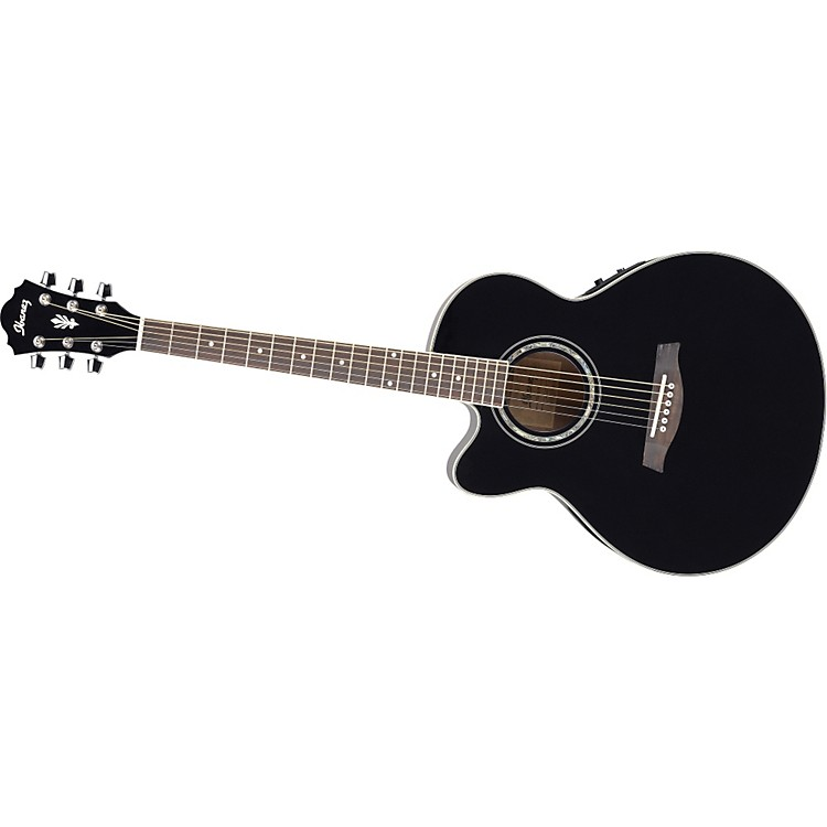 ibanez ael10le left handed acoustic electric guitar with onboard tuner music123. Black Bedroom Furniture Sets. Home Design Ideas