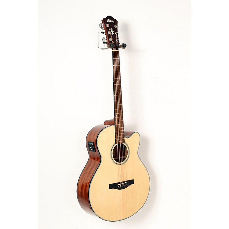Ibanez AELBT1 Acoustic-Electric Baritone Guitar Natural 888365852300