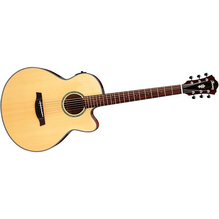 IbanezAELBT1 Acoustic-Electric Baritone GuitarNatural