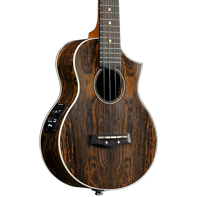 IbanezAEW13E Exotic Wood Acoustic-Electric UkuleleOpen Pore