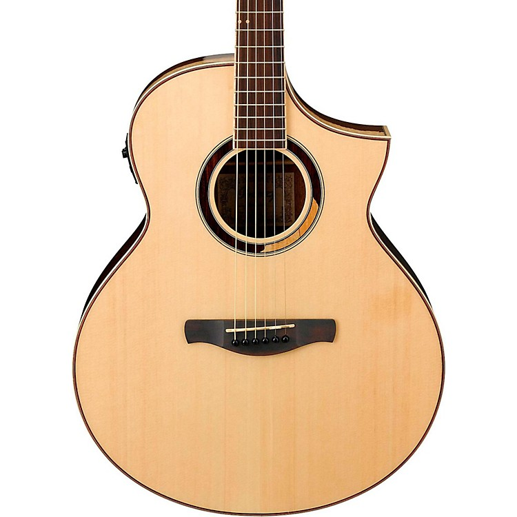 IbanezAEW51 Exotic Wood Acoustic-Electric GuitarNatural