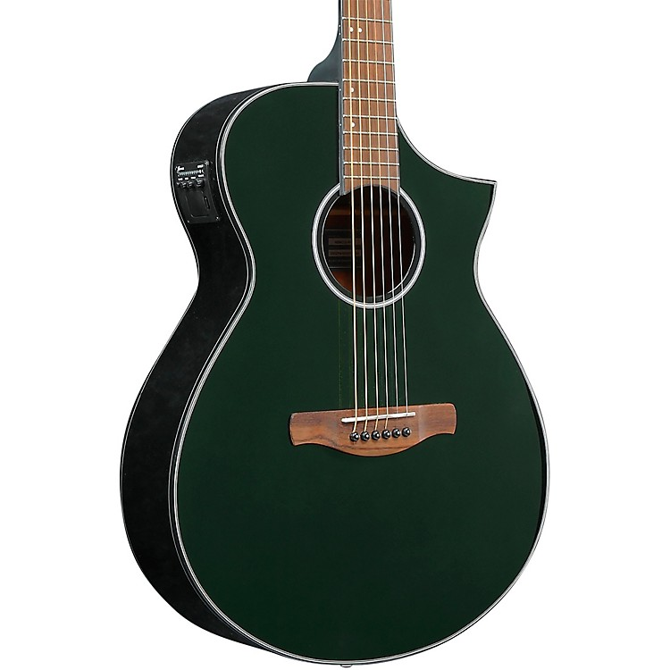IbanezAEWC10 Acoustic-Electric GuitarNight Metallic Green