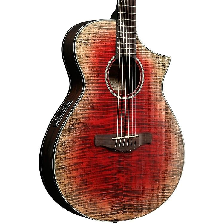 ibanez aewc32fm thinline acoustic electric guitar red burst music123. Black Bedroom Furniture Sets. Home Design Ideas