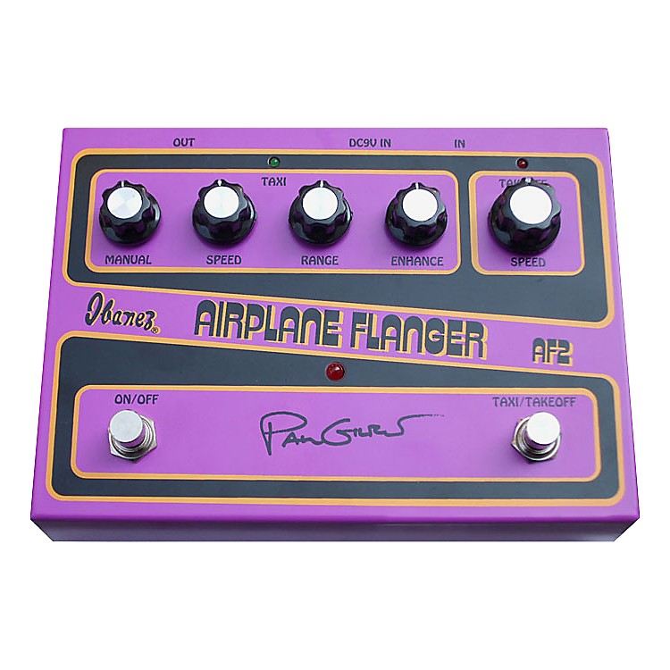 IbanezAF2 Paul Gilbert Signature Airplane Flanger Guitar Effects Pedal
