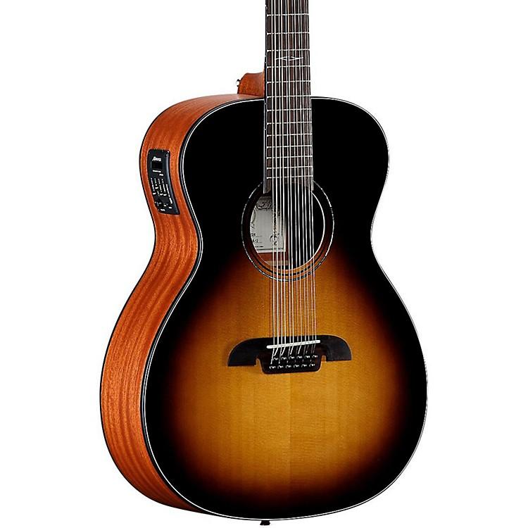 AlvarezAF610ESB 12-String Folk Acoustic-Electric GuitarSunburst